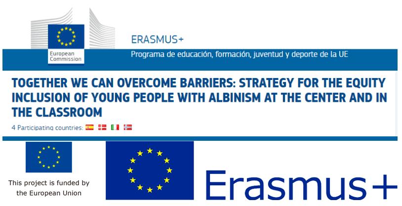 Logos proyecto Erasmus+ educacion