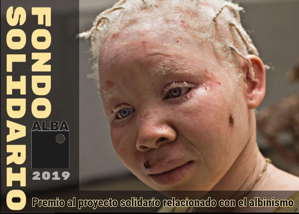 Fondo Solodario ALBA 2019 - Premio proyecto solidario albinismo