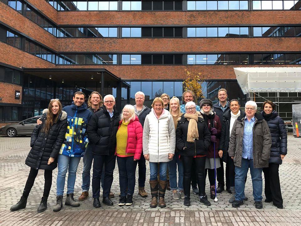Asistentes reunión Oslo Albinismo y deporte