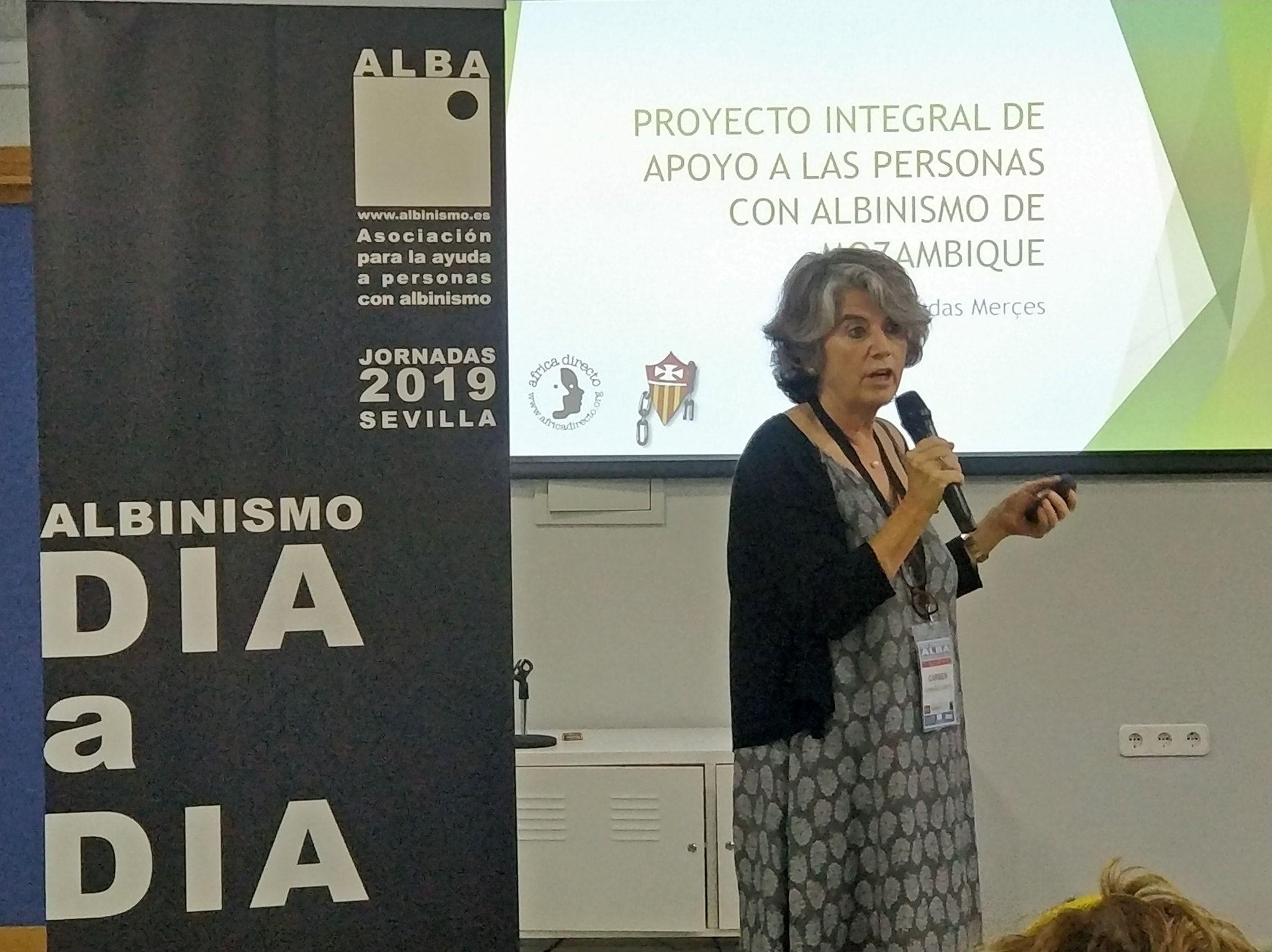 Presentacion del Proyecto ganador del Fondo Solidario ALBA por Carmen Mormeneo