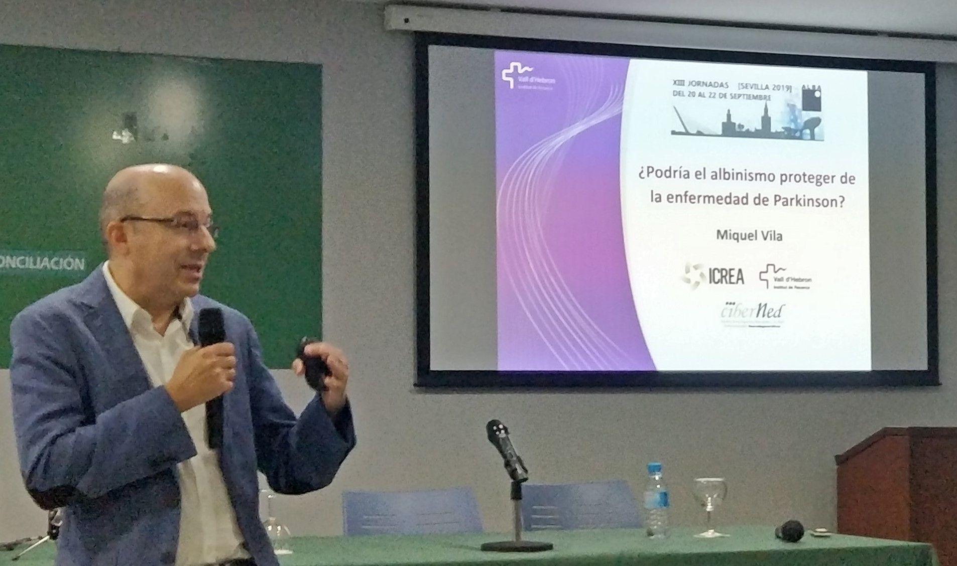 Conferencia del Dr. Miquel Vila