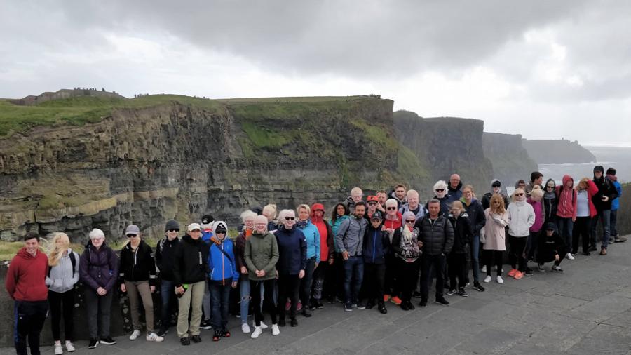 Grupo en Irlanda