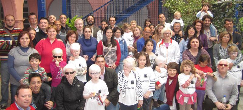 VII Jornada ALBA - Albinismo y deporte - Huelva 2013
