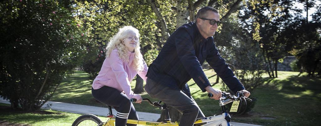 Tandem de Bicicleta