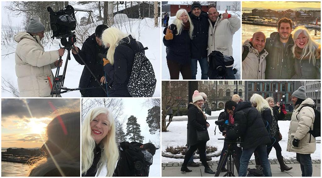 Montaje de varias foto en Noruega