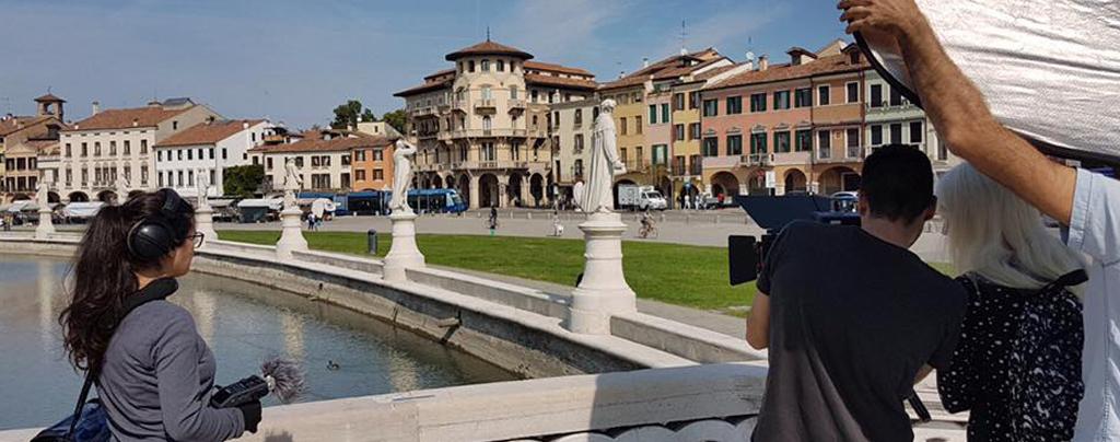 Grabación en Italia